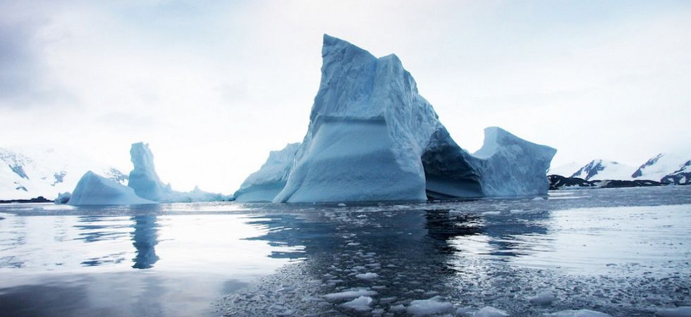 Scientists to hunt microbes beneath Antarctic ice sheet (File Photo)