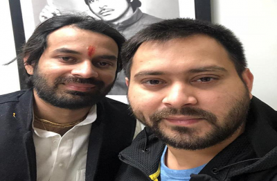 Brothers Tej Pratap Yadav and Tejashwi Yadav meet after a gap of several months