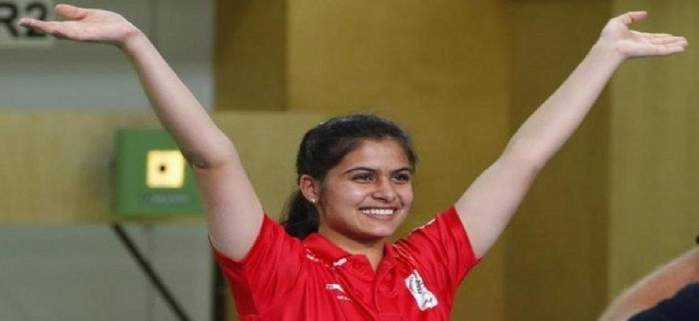 Manu Bhaker won the gold medal in shooting in the 2018 World Cup, Commonwealth Games and the Youth Olympics. (Image credit: Twitter)