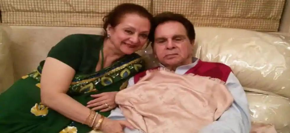 Dilip Kumar and his actress wife Saira Banu are engaged in a dispute with city-based builder Sameer Bhojwani/ Image: File photo
