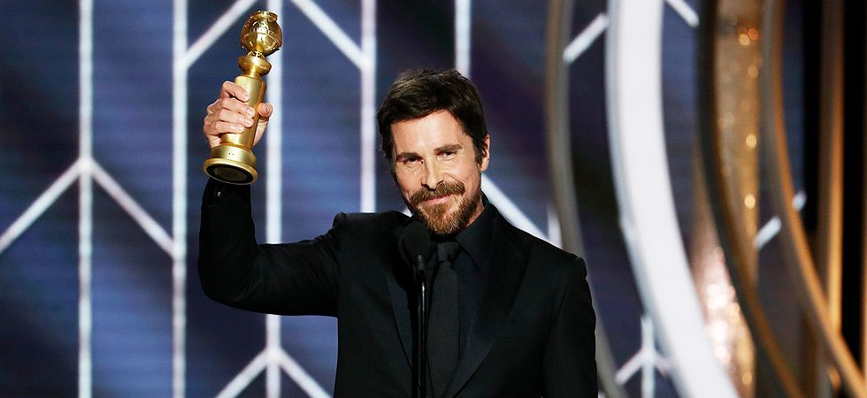 Christian Bale won a Golden Globe for his role as Dick Cheney in Vice./ Image: Golden Globes