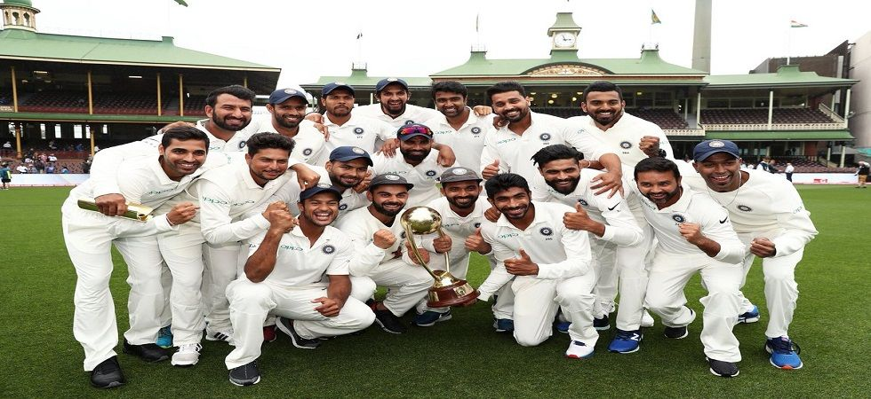 Virat Kohli's Indian cricket team eliminated 71 years of pain to win a Test series in Australia for the first time. (Image credit: Twitter)