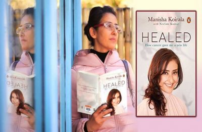 Was painful to revisit cancer phase says Manisha Koirala at the launch of her book, 'Healed'