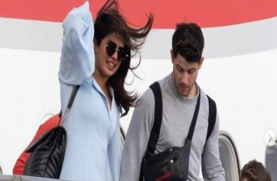 Priyanka Chopra and Nick Jonas enjoy a romantic getaway in the Caribbeans, view PICS