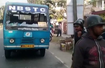 Bharat Bandh LIVE Updates: Protesters vandalise government bus in Dinhata, driver injured