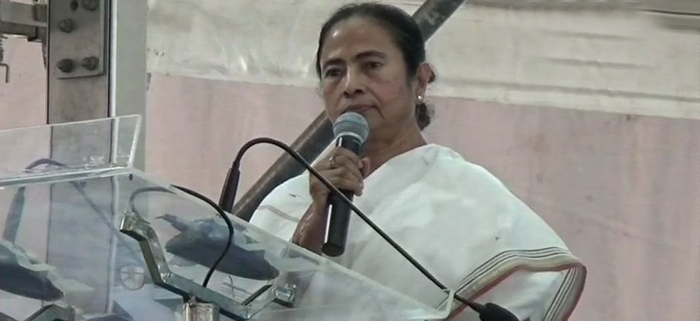 West Bengal Chief Minister Mamata Banerjee said that the Centre has to pay the full amount if it wants to run the Ayushman Bharat scheme. (Photo credit: ANI)