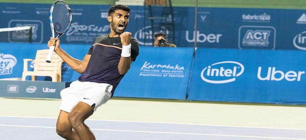 Prajnesh Gunneswaran defeated Spain's Enrique Lopez Perez 6-3 6-3 to come closer to securing a spot in the 2019 Australian Open main draw. (Image credit: Twitter)
