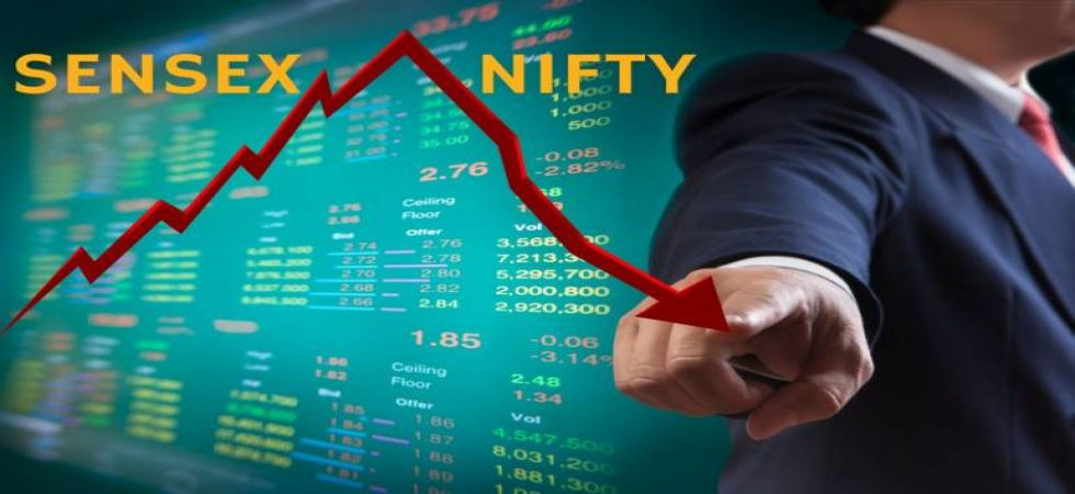 Sensex drops 106 points on weak global cues, Nifty below 10,900 (File Photo)