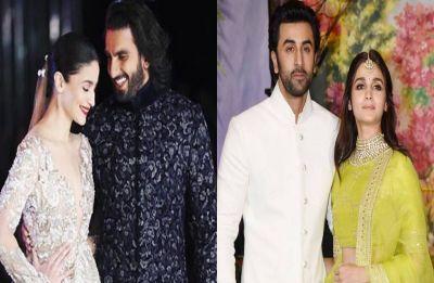Ranveer Singh teases Alia Bhatt about Ranbir Kapoor at Gully Boy trailer launch