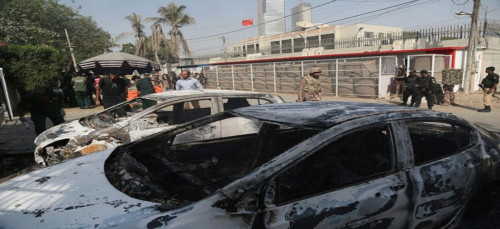 In November, 2018, three militants tried to storm the consulate Karachi's posh Clifton area but security forces foiled their bid. (AP/PTI file)