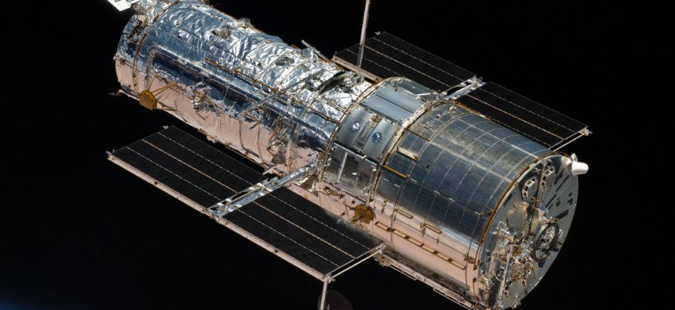 Hubble is the first major optical telescope to be placed in space, providing an unobstructed view into the universe. (Photo courtesy NASA)