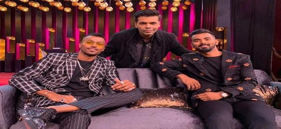 Hardik Pandya and KL Rahul face a potential two-match ban for their 'misogynistic', 'racist' comments on the show Koffee With Karan. (Image credit: Twitter)