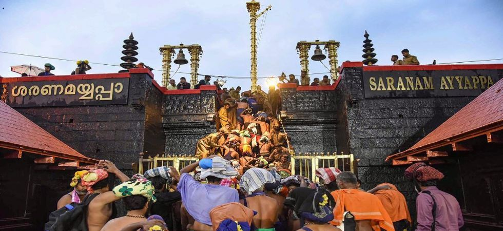 Sabarimala Row: Ayyappa devotees seek live telecast of SC proceedings (File Photo)