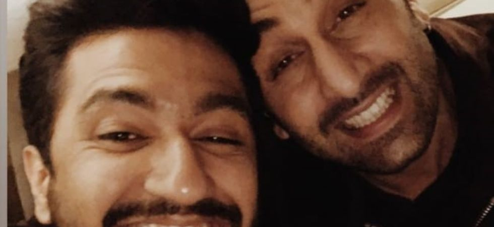 Vicky Kaushal and Ranbir Kapoor's picture-perfect selfie./ Image: Instagram