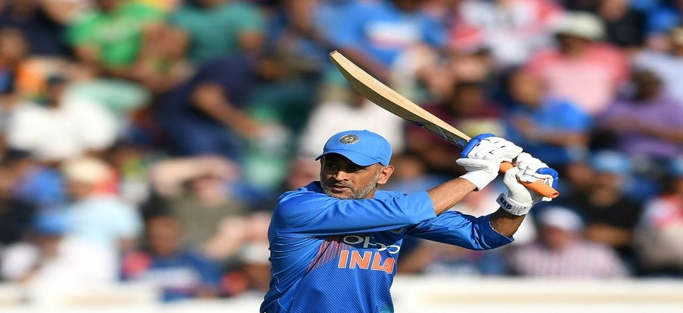 MS Dhoni went past 10000 runs as a keeper for India, having earlier scored 174 runs for Asia XI. (Image credit: ICC Twitter)