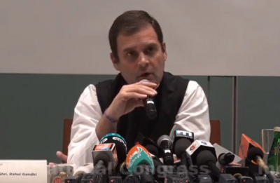 Rahul Gandhi reacts to SP-BSP alliance, says he has tremendous respect for Akhilesh, Mayawati