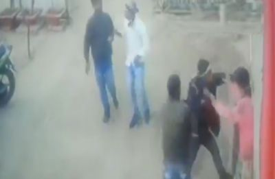 WATCH: Goons thrash woman for refusing to pay extortion money in Bihar