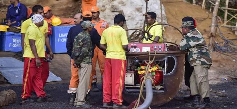 The whereabouts of the 15 trapped miners are yet to be known even as the rescue operations are underway. (Photo: PTI)