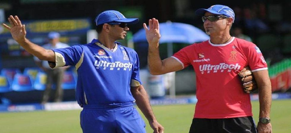 Paddy Upton is back as the coach of the Rajasthan Royals for the 2019 Indian Premier League. (Image credit: Twitter)
