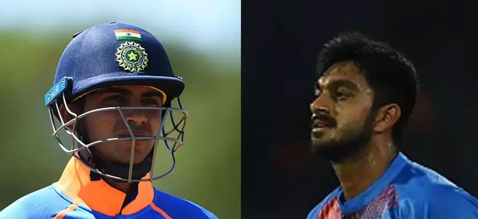 Shankar is a middle-order batsman from Tamil Nadu who can also bowl medium pace, while Gill is an opener from Punjab.