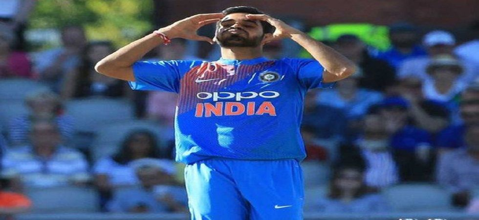 Bhuvneshwar Kumar as admitted that not playing for a month has affected his rhythm. (Image credit: Twitter)