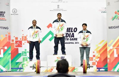Khelo India 2019: Karnataka farmer's daughter wins gold in under-21 weightlifting category