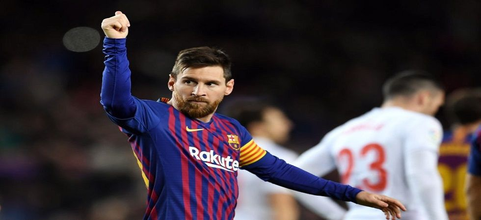 Lionel Messi became the first player to score 400 goals in the La Liga as he continued to help Barcelona dominate the La Liga in the 2018/19 season. (Image credit: FIFA Twitter)