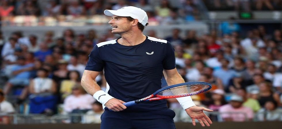 Andy Murray bowed out in the first round in his final Australian Open as he lost in five sets to Roberto Bautista Agut. (Image credit: Twitter)