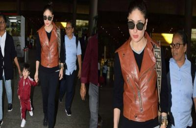 Kareena Kapoor Khan keeps it chic and classy in her latest airport look