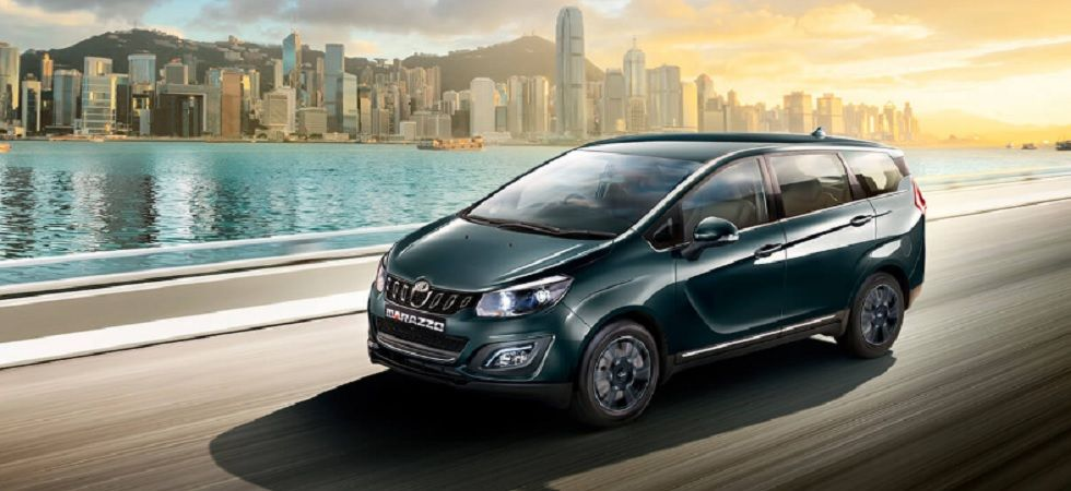 Mahindra Marazzo new eight-seater variant launched in india (Image credit: Marazzo Website)