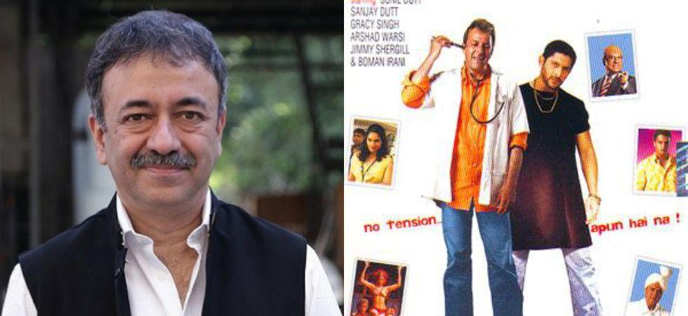 Munnabhai 3 has been put on hold till Rajkumar Hirani gets a clean chit./ Image: Twitter