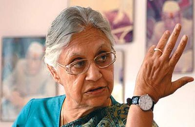 Sheila Dikshit on AAP: No alliance with anyone, Congress will contest on its own in Delhi