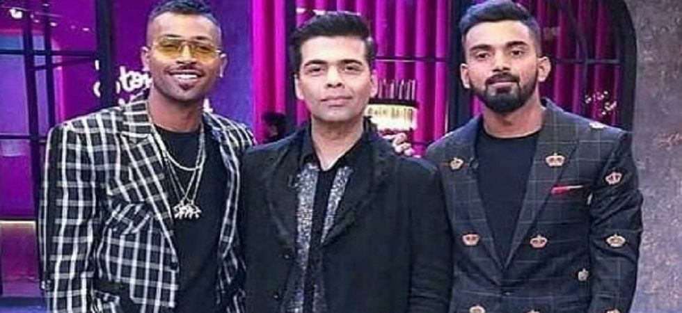 Hardik Pandya and KL Rahul's suspension could go beyond the series against New Zealand. (Image credit: Twitter)