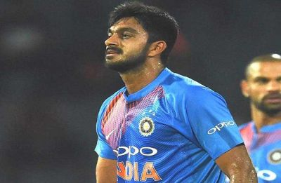 Vijay Shankar makes ODI debut in Melbourne, aims for redemption