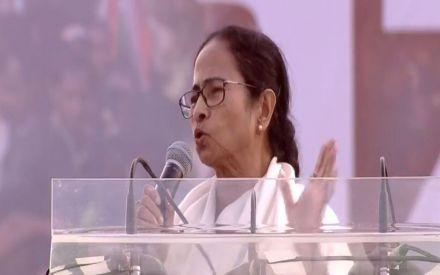 Expiry date of Central government has come, says Mamata Banerjee at United India Rally