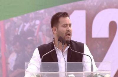 At TMC's United India Rally, Tejashwi Yadav accuses PM Modi, Amit Shah of hatching conspiracy against Lalu