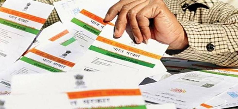 Aadhaar is a 12-digit unique identification number issued by the Unique Identification Authority of India (UIDAI). It is being made mandatory for using a host of government services. (File photo)