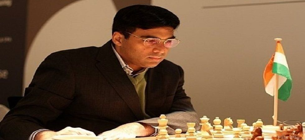 Viswanathan Anand stayed in in joint-top spot in the Tata Steel Chess tournament with a win over Shakhriyar Mamedyarov. (Image credit: Twitter)