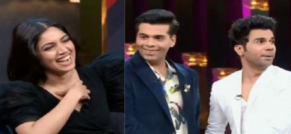 Koffee With Karan 6: Rajkumar Rao flirts with Karan Johar (Photo: Twitter)