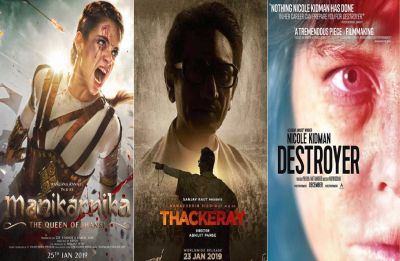 Movies releasing this week: Nawazuddin's Thackeray, Kangana's Manikarnika, Nicole Kidman's Destroyer and more