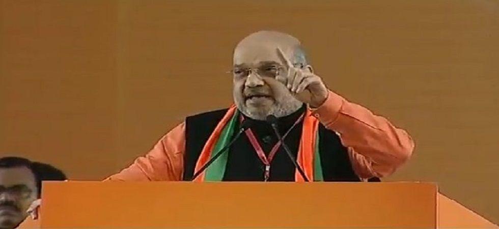 BJP president Amit Shah (Photo: Twitter/@BJP4India)