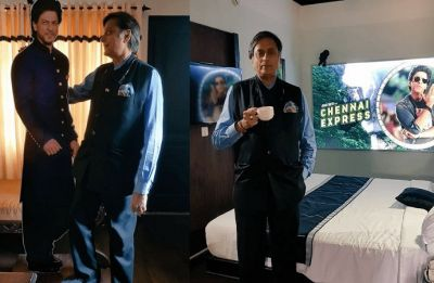 Shashi Tharoor may have just discovered a shrine for Shah Rukh Khan at a Munnar Hotel, Kerala