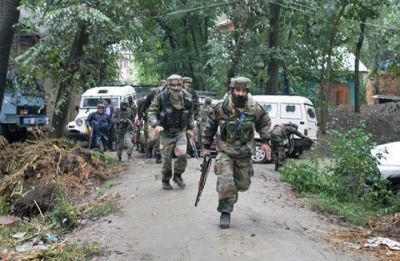 4 terrorists killed by security forces, operation underway in Jammu and Kashmir's Shopian