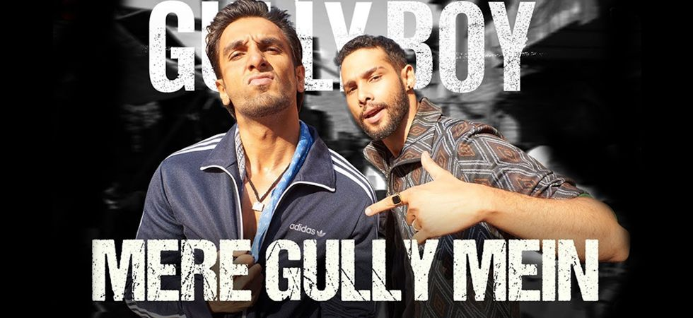 2015 hit 'Mere Gully Mein', originally rapped by Divine and Naezy, has been recreated starring Ranveer Singh again!/ Image: Song poster