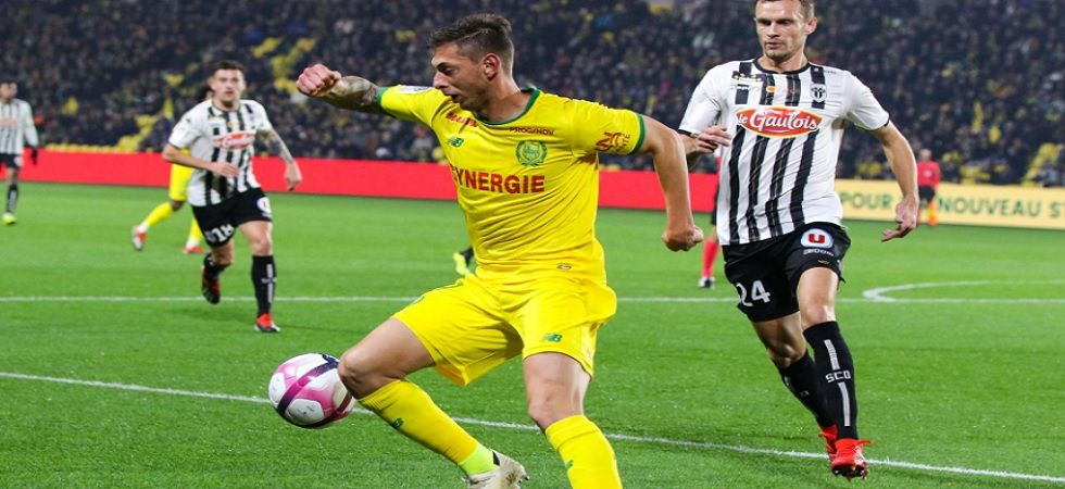 Argentina striker Emiliano Sala's plane goes missing over English Channel (Twitter)