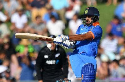 Shikhar Dhawan scales Mount 5K in Napier ODI against New Zealand