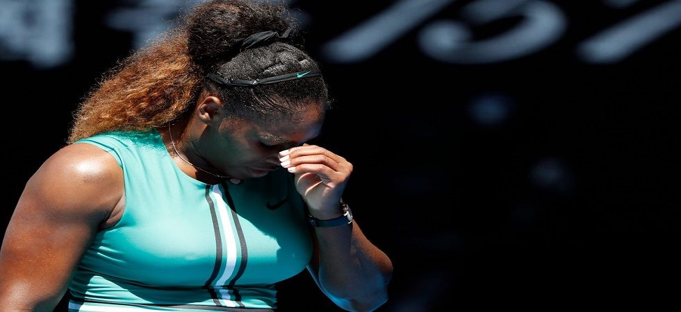 Serena Williams squandered a 5-1 lead in the final set to lose to Karolina Pliskova in the Australian Open 2019. (Image credit: Twitter)