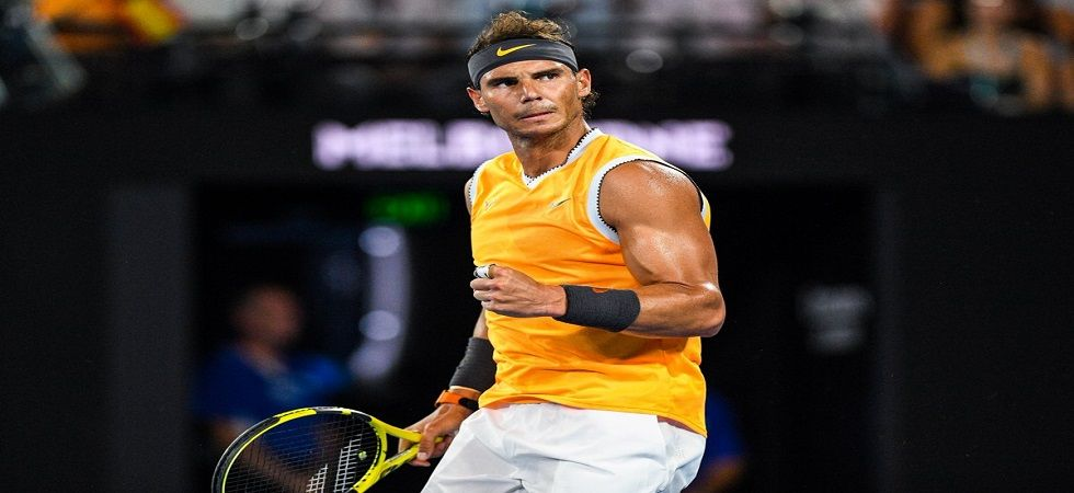 Rafael Nadal could become the first man in the Open Era to win all four Grand Slams twice as he entered the Australian Open final. (Image credit: Twitter)