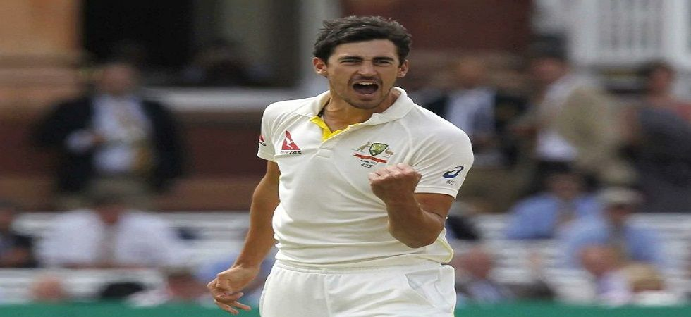 Mitchell Starc became the 16th Australian bowler to take 200 wickets in Tests during the match against Sri Lanka. (Image credit: Twitter)