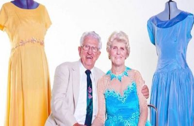 True Love is still alive, 83-year-old German man bought 55,000 dresses so his beloved never repeats the same dress